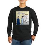 Dracula Phlebotomists Long Sleeve Dark T-Shirt