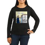 Dracula Phlebotom Women's Long Sleeve Dark T-Shirt