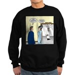 Dracula Phlebotomists Sweatshirt (dark)
