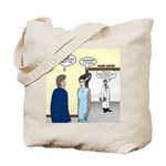 Dracula Phlebotomists Tote Bag