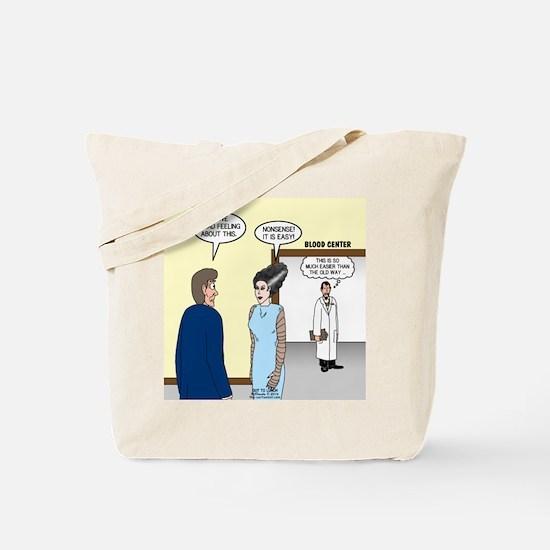 Dracula Phlebotomists Tote Bag