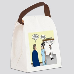 Dracula Phlebotomists Canvas Lunch Bag