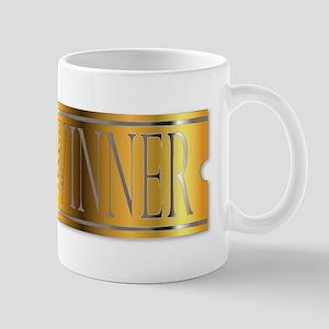 Winner Ticket In Gold Mugs