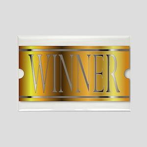 Winner Ticket In Gold Magnets
