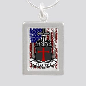 AMERICAN KNIGHT GOD WILLS IT Necklaces