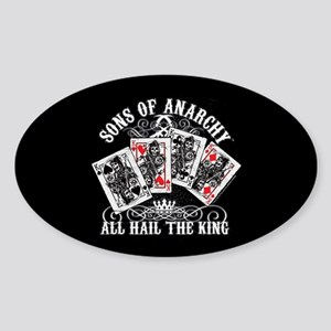 SOA All Hail the King Sticker (Oval)