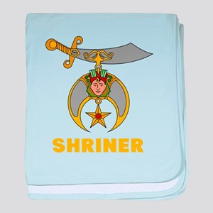 SHRINER baby blanket