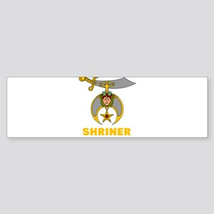 SHRINER Bumper Sticker