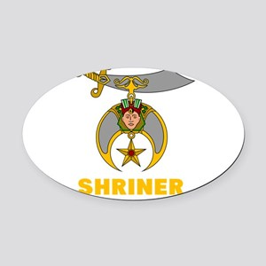 SHRINER Oval Car Magnet