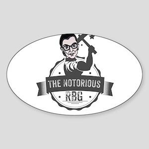 Ruth Bader Ginsburg Union Notorious RBG Sticker