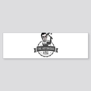 Ruth Bader Ginsburg Union Notorious Bumper Sticker