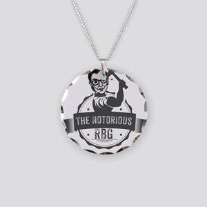 Ruth Bader Ginsburg Union No Necklace Circle Charm