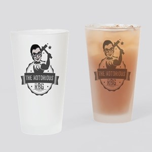 Ruth Bader Ginsburg Union Notorious Drinking Glass