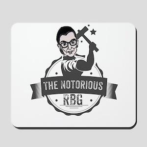 Ruth Bader Ginsburg Union Notorious RBG Mousepad