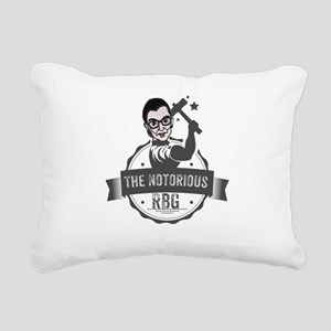Ruth Bader Ginsburg Unio Rectangular Canvas Pillow