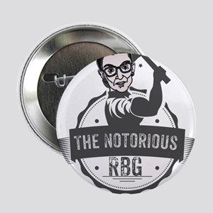 """Ruth Bader Ginsburg Union Notorious R 2.25"""" Button"""