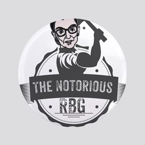 Ruth Bader Ginsburg Union Notorious RBG Button
