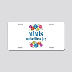 Mimi Joy Aluminum License Plate