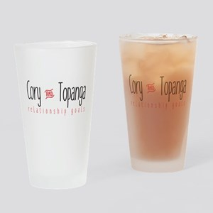 Relationship Goals Drinking Glass