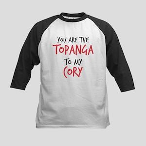 Topanga to my Cory Kids Baseball Jersey