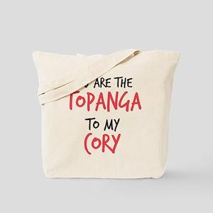 Topanga to my Cory Tote Bag