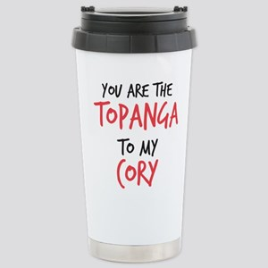 Topanga to my Cory Stainless Steel Travel Mug