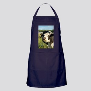 curious cow, 2 Apron (dark)