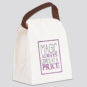 Magic Come at a Price Canvas Lunch Bag
