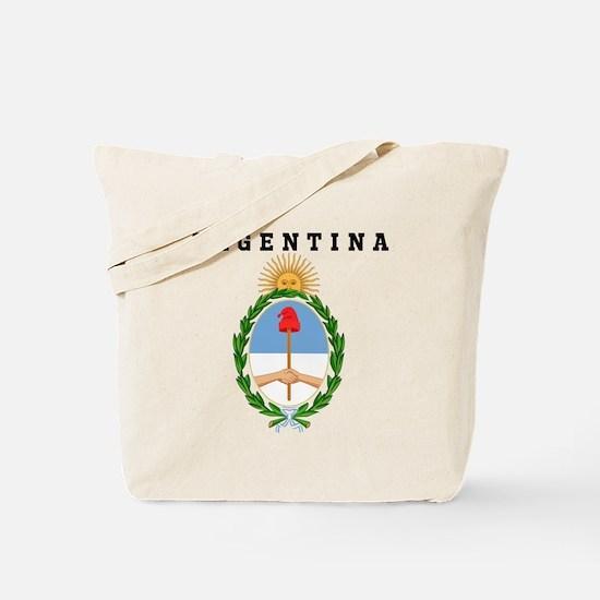 Argentina Coat of Arms Tote Bag