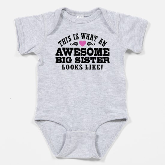 Cool Going be big sister Baby Bodysuit