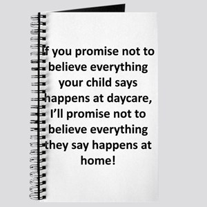 If you promise... Journal