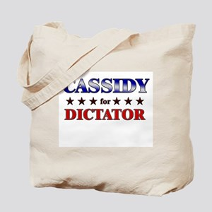 CASSIDY for dictator Tote Bag