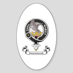 Badge - Drummond Sticker (Oval)