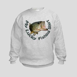 lucky bass shirt Sweatshirt