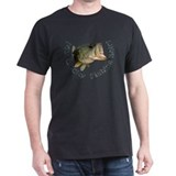 Bass fishing Mens Classic Dark T-Shirts