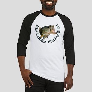 lucky bass shirt Baseball Jersey