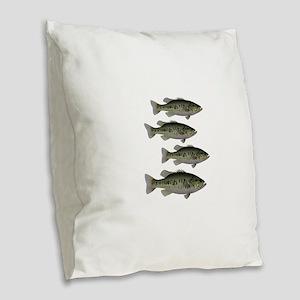 SCHOOL Burlap Throw Pillow