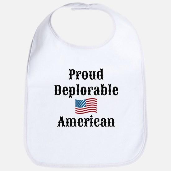 Deplorable American Bib