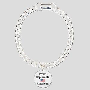 Deplorable American Charm Bracelet, One Charm