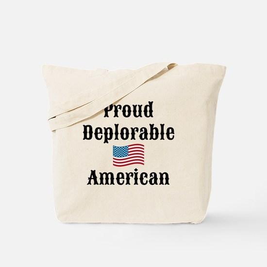 Deplorable American Tote Bag