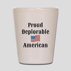 Deplorable American Shot Glass