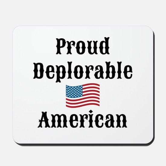 Deplorable American Mousepad