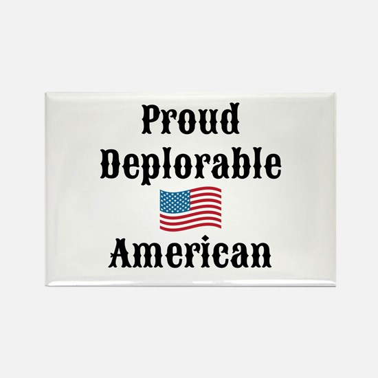 Deplorable American Rectangle Magnet