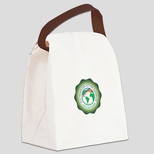 EARTH TEAM GREEN Canvas Lunch Bag