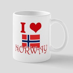 I Love Norway Mugs