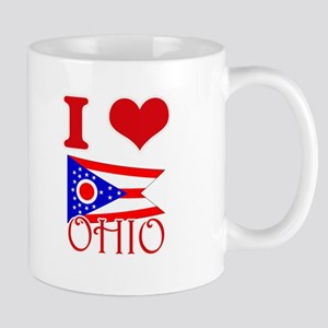 I Love Ohio Mugs