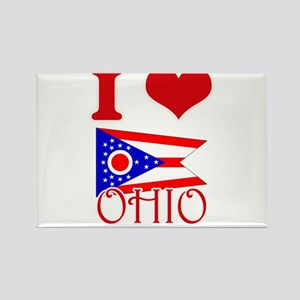 I Love Ohio Magnets