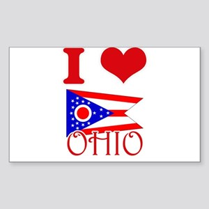 I Love Ohio Sticker