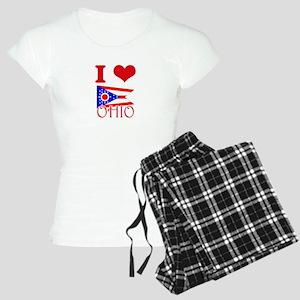 I Love Ohio Pajamas