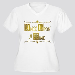 Once Upon a Time Women's Plus Size V-Neck T-Shirt